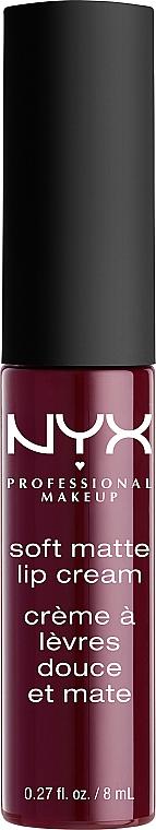 Flüssiger Lippenstift - NYX Professional Makeup Soft Matte Lip Cream