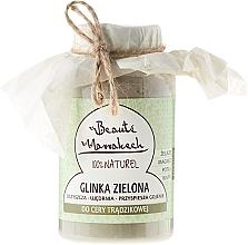 Düfte, Parfümerie und Kosmetik Marokkanische grüne Tonerde für Aknehaut - Beaute Marrakech Green Clay