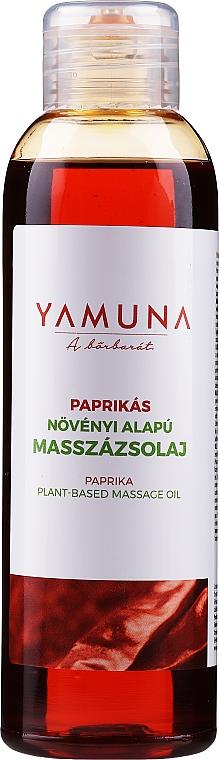 Olejek do masażu Papryka - Yamuna Paprika Plant Based Massage Oil