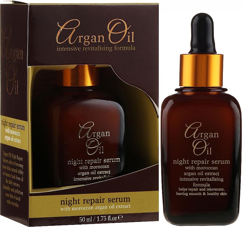 Regenerierendes Anti-Falten-Nachtserum - Xpel Argan Oil Night Repair Serum