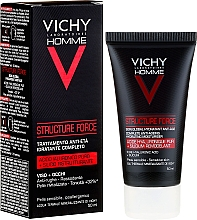 Düfte, Parfümerie und Kosmetik Feuchtigkeitsspendende Make-up Base - Vichy Homme Structure Force Complete Anti-ageing Hydrating Moisturiser