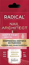 Düfte, Parfümerie und Kosmetik 8in1 Nagelbalsam - Farmona Radical Nail Architect Express 8in1