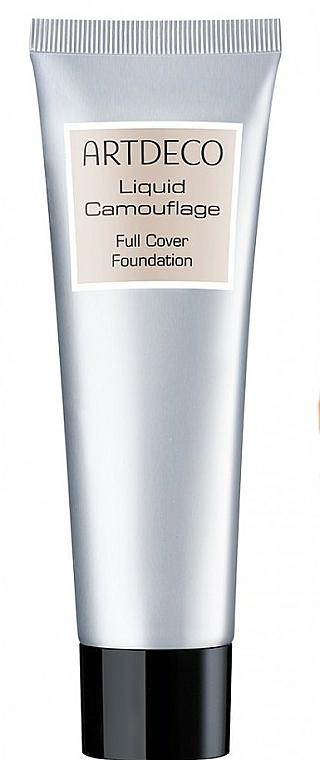 Intensiv deckende Foundation - Artdeco Liquid Camouflage Full Cover Foundation