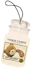 Düfte, Parfümerie und Kosmetik Auto-Lufterfrischer Soft Blanket - Yankee Candle Soft Blanket Car Jar Ultimate