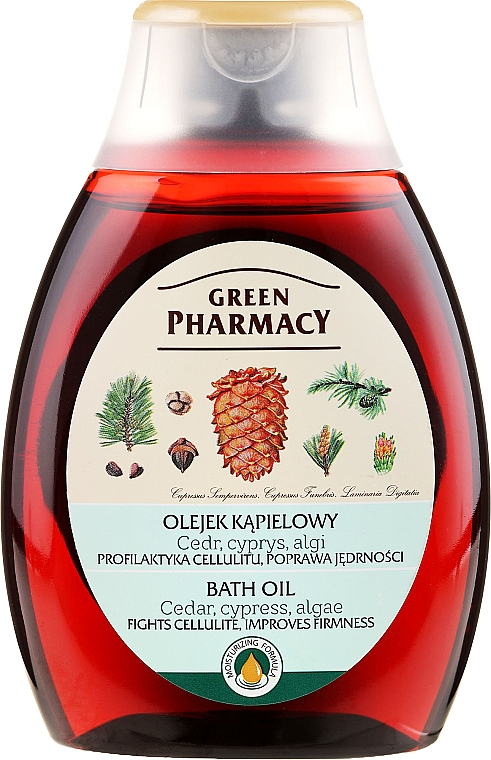 Badeöl mit Zeder und Zypresse - Green Pharmacy