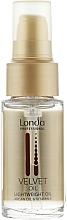 Düfte, Parfümerie und Kosmetik Arganöl für trockenes und geschädigtes Haar - Londa Professional Velvet Oil Lightweight Oil