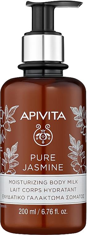 Feuchtigkeitsspendende Körpermilch mit Jasminextrakt - Apivita Pure Jasmine Moisturizing Body