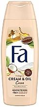 Düfte, Parfümerie und Kosmetik Creme-Duschgel mit Kokosnuss-Öl & Kakaobutter-Duft - Fa Cacao Butter And Coco Oil