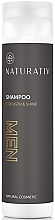 Düfte, Parfümerie und Kosmetik Shampoo für Männer - Naturativ Men Shampoo Strenght and Shine