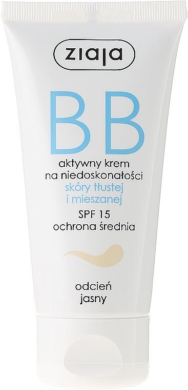 BB Creme für gemischte und fettige Haut SPF 15 - Ziaja BB-Cream SPF 15