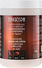 Düfte, Parfümerie und Kosmetik Schokolade Badekonzentrat mit Zimt, Koffein und Chili - BingoSpa Chocolate Cinnamon and Coffeine Concentrate For Bath