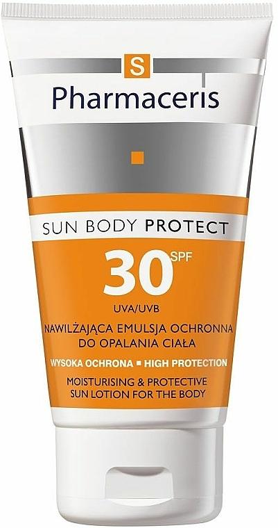 Feuchtigkeitsspendende Sonnenschutzlotion für den Körper SPF 30 - Pharmaceris S Sun Body Protective Sun Lotion for the Body SPF 30