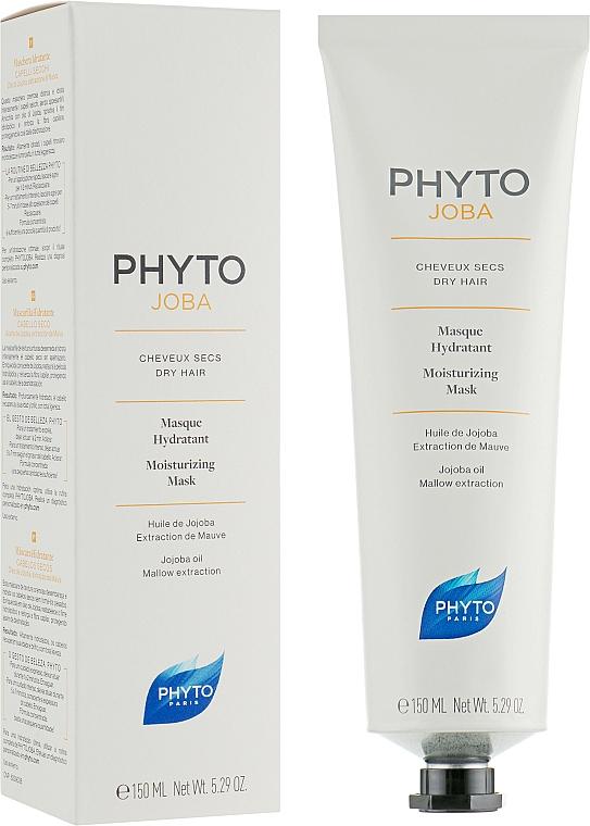 Feuchtigkeitsspendende Haarmaske mit Jojobaöl und Malvenextrakt - Phyto Phytojoba Moisturizing Mask