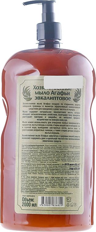 Multifunktionelle Flüßigseife mit Eukalyptusöl - Rezepte der Oma Agafja — Bild N2