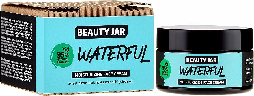 Feuchtigkeitsspendende Gesichtscreme mit Hyaluronsäure, Mandel- und Jojobaöl - Beauty Jar Waterful Moisturizing Face Cream