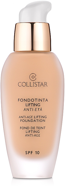 Anti-Aging Lifting-Foundation - Collistar Anti-Age Lifting Foundation