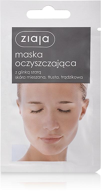 Gesichtsreinigungsmaske mit grauem Ton - Ziaja Face Mask