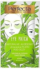 Düfte, Parfümerie und Kosmetik Augenpatches mit Aloe und Vitaminen gegen Anzeichen von Müdigkeit - Perfecta Eye Patch Aloe & Vitamins