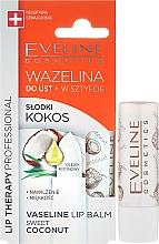 Düfte, Parfümerie und Kosmetik Lippenbalsam - Eveline Cosmetics Vaseline Lip Balm Sweet Coconut