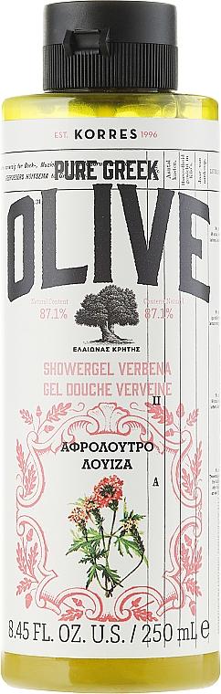 Eisenkraut Duschgel - Korres Pure Greek Olive Verbena Shower Gel