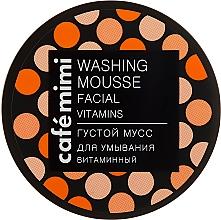 Düfte, Parfümerie und Kosmetik Regenerierende Gesichtswaschmousse - Cafe Mimi Washing Mousse Facial Vitaminc