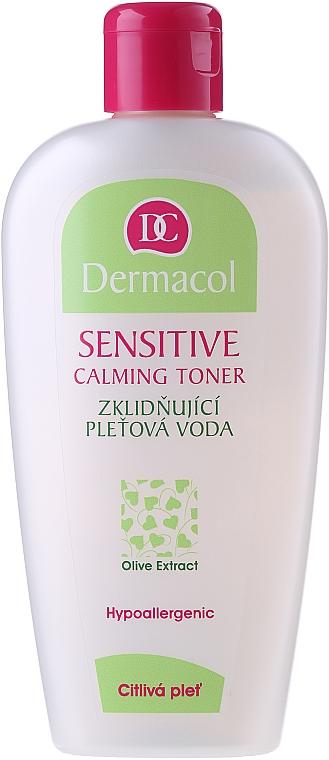 Beruhigendes Gesichtstonikum mit Öliven-Extrakt - Dermacol Sensitive Calming Toner