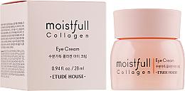 Düfte, Parfümerie und Kosmetik Creme für die Augenpartie mit Kollagen - Etude House Moistfull Collagen Eye Cream