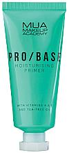 Düfte, Parfümerie und Kosmetik Feuchtigkeitsspendender Gesichtsprimer mit Teebaumöl und Vitamin A und E - Mua Pro/ Base Moisturising Primer