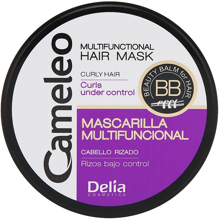 Haarmaske für lockiges Haar - Delia Cameleo Mask