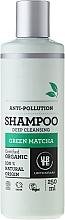 Düfte, Parfümerie und Kosmetik Tiefenreinigendes Shampoo für alle Haartypen - Urtekram Green Matcha Shampoo