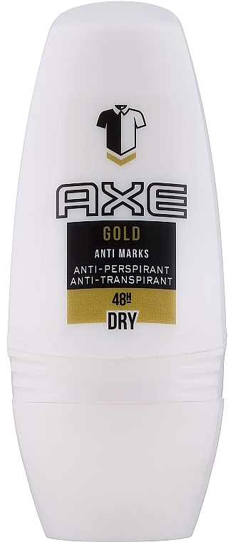 Deo Roll-on Antitranspirant - Axe Gold Anti Marks Deo Roll-on