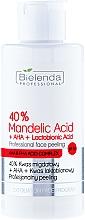 Düfte, Parfümerie und Kosmetik Gesichtspeeling mit 40% Mandelsäure+AHA+Lactobionsäure - Bielenda Professional Exfoliation Face Program 40% Mandelic Acid + AHA + Lactobionic Acid