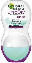 Düfte, Parfümerie und Kosmetik Deo Roll-on Antitranspirant - Garnier Mineral UltraDry Antiperspirant 48h Roll On