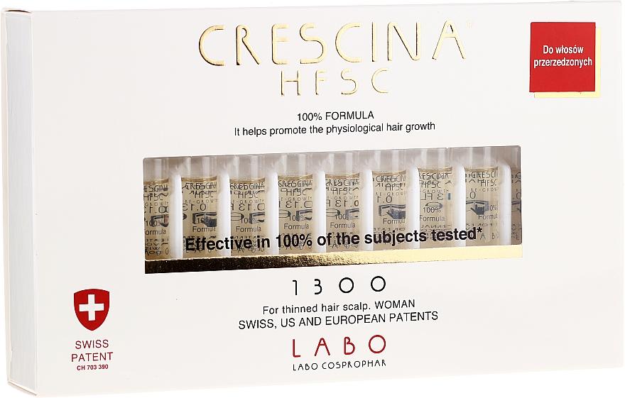 Ampullen gegen Haarausfall für Frauen - Labo Crescina HFSC Re-Growth 1300