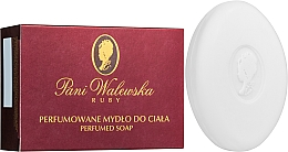 Düfte, Parfümerie und Kosmetik Parfümierte Körperseife - Pani Walewska Ruby Soap