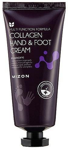 Hand- und Fußcreme mit Seekollagen - Mizon Collagen Hand And Foot Cream