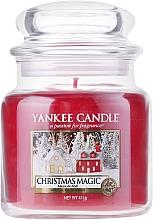 Düfte, Parfümerie und Kosmetik Duftkerze im Glas Christmas Magic - Yankee Candle Christmas Magic Jar