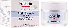Düfte, Parfümerie und Kosmetik Feuchtigkeitsspendende Gesichtscreme für normale bis Mischhaut - Eucerin AquaPorin Active Deep Long-lasting Hydration For Normal To Mixed Skin