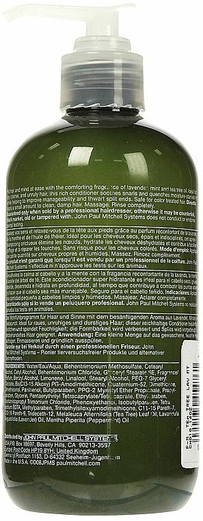 Feuchtigkeitsspendender Conditioner mit Lavendel- und Minzextrakt - Paul Mitchell Tea Tree Lavender Mint Conditioner — Bild N5