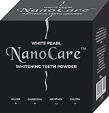 Düfte, Parfümerie und Kosmetik Aufhellendes Zahnpulver - VitalCare White Pearl NanoCare Charcoal Teeth Powder