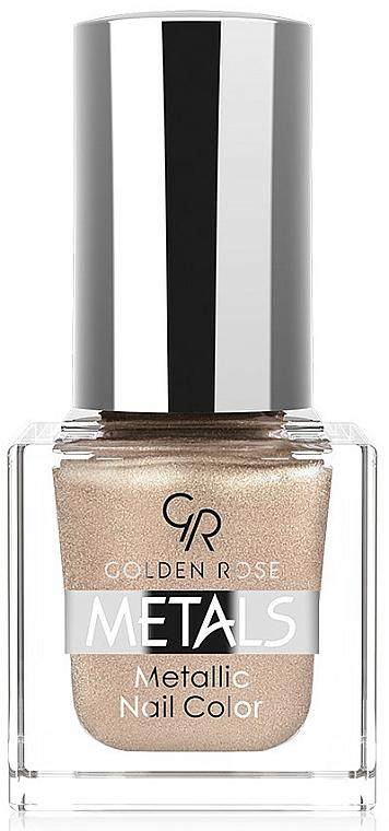 Nagellack - Golden Rose Metals Metallic Nail Color
