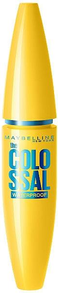 Wasserfeste Wimperntusche - Maybelline Colossal Waterproof 100% Black