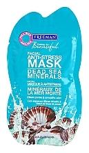 Düfte, Parfümerie und Kosmetik Anti-Stress Gesichtsmaske mit Mineralien aus dem Toten Meer - Freeman Feeling Beautiful Dead Sea Minerals Anti-Stress Mask (Mini)