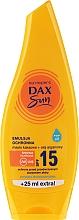 Sonnenschutzemulsion mit Arganöl und Kakaobutter SPF 15 - DAX Sun SPF 15 — Bild N1