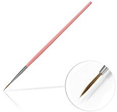 Düfte, Parfümerie und Kosmetik Nageldekoration-Pinsel 10 mm Pink - Silcare Brush 02