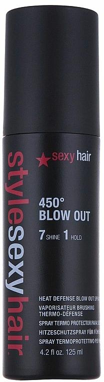 Hitzeschutsspray Mittlerer Halt - SexyHair StyleSexyHair 450 Blow Out Heat Defense Spray
