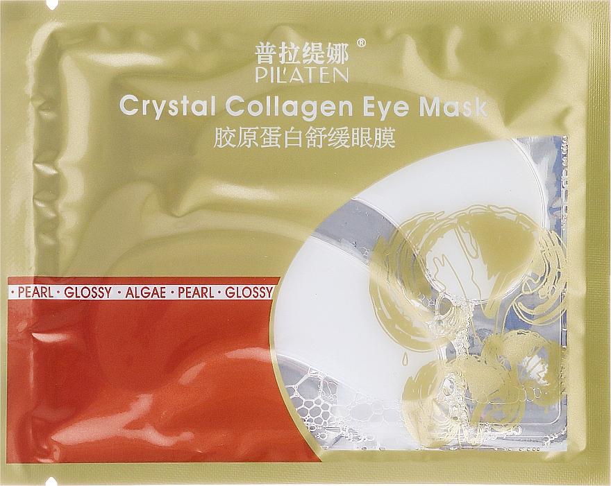 Augenmaske gegen Schwellungen und dunkle Ringe mit Kollagen - Pilaten Crystal Collagen Eye Mask Anti-Puffiness Dark Circle