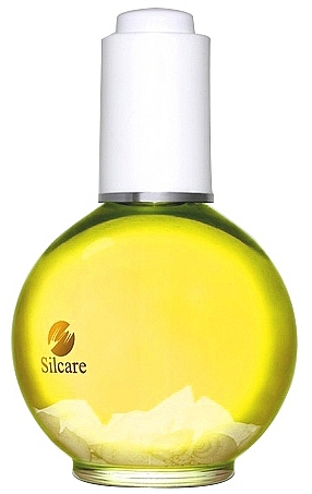 Nagel- und Nagelhautöl zitronengelb - Silcare Olive Shells Citron Yellow