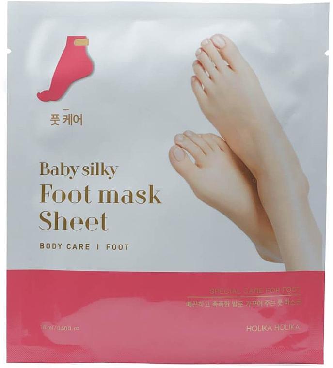 Fußmaske in Socken - Holika Holika Baby Silky Foot Mask Sheet