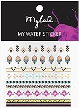Düfte, Parfümerie und Kosmetik Aztekische Nagelaufkleber - MylaQ My Aztek Sticker